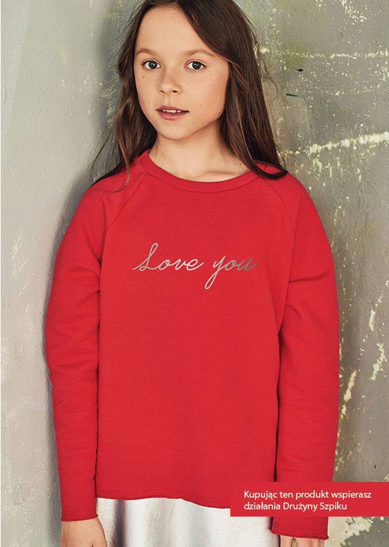 Bluza Love You by Malinne.pl