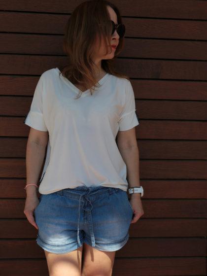 Biały Tshirt